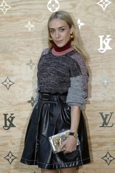 Soirée Louis Vuitton x Jeff Koons au Louvre : Chloé Sevigny