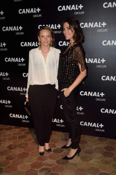 Adrienne de Malleray et Laurie Cholewa