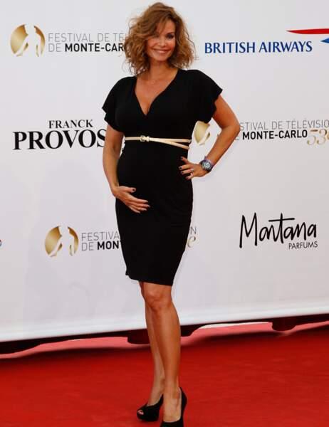 Mais oui, Ingrid Chauvin est bien enceinte de son premier enfant !