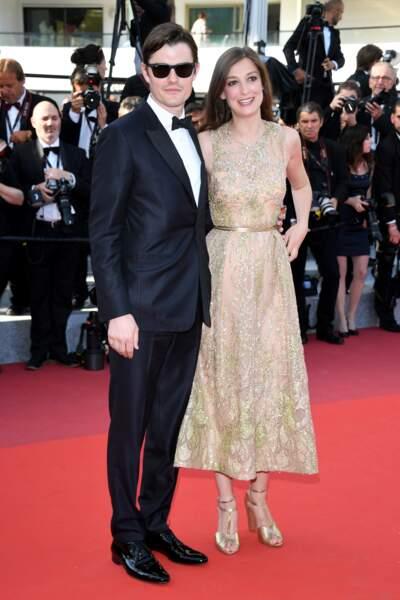 L'acteur anglais Sam Riley et sa compagne, Alexandra Maria Lara