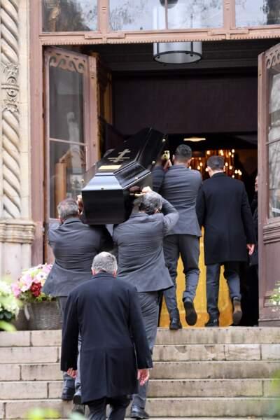 Obsèques de Michel Legrand à Paris