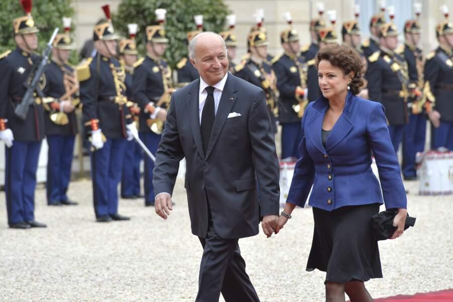 Laurent Fabius et sa femme
