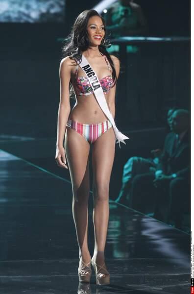 Miss Angola, Whitney Houston A. Shikongo
