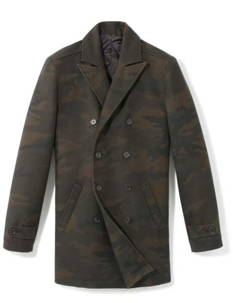 Manteau,  129,90€ (Celio)