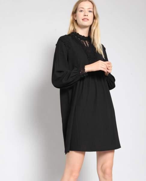 Robe avec détail en dentelle, Pimkie, 35,99€