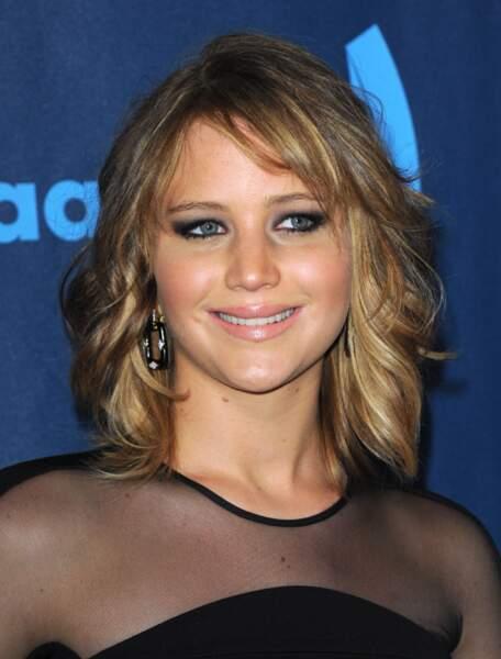 Jennifer Lawrence aux GLAAD Awards