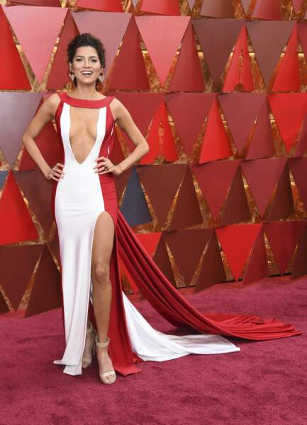 Blanca Blanco à la 90e cérémonie des Oscars, à Los Angeles le 4 mars 2018