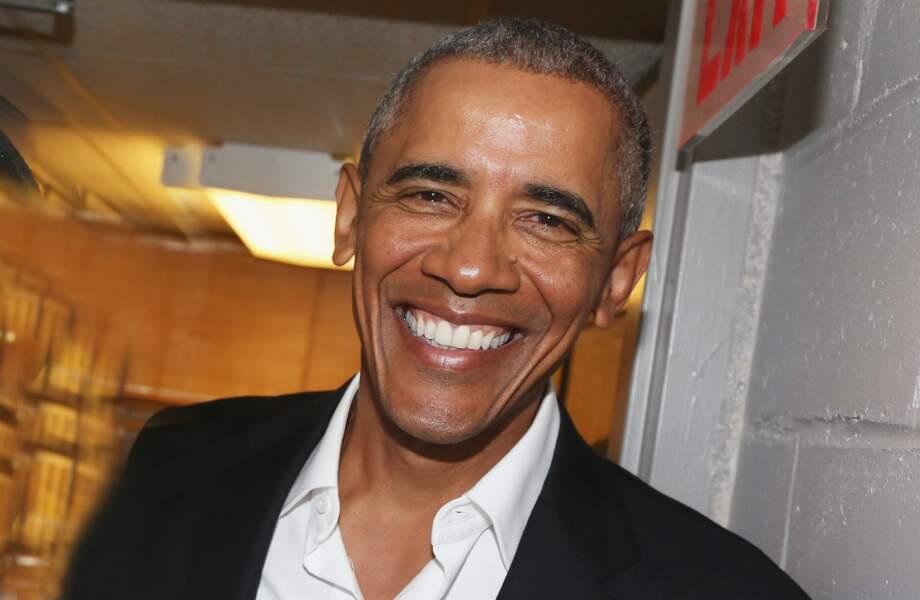 Classement 2017 des mecs que vous aimeriez adopter - 8ème : Barack Obama