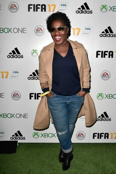 Soirée de lancement FIFA 2017 : Claudia Tagbo