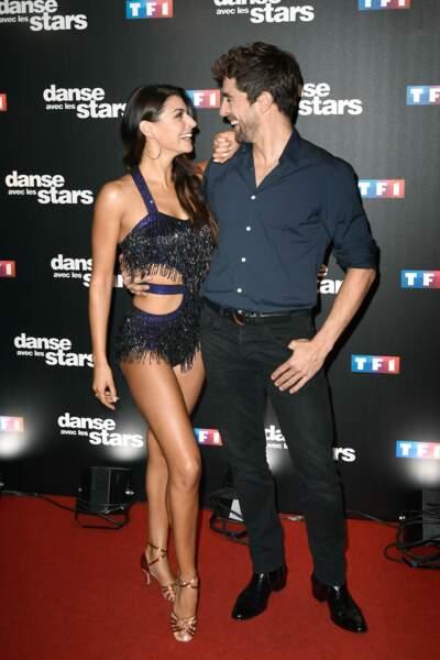 Danse avec les stars 8 - Bonne ambiance entre Candice Pascal et Agustin Galiana
