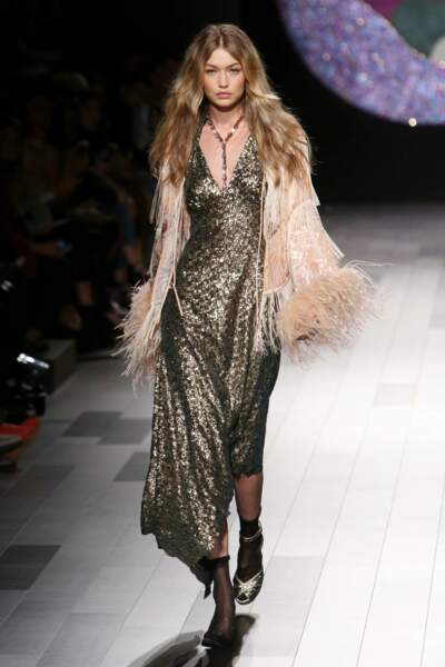 Fashion week de New York - Second passage pour Gigi Hadid