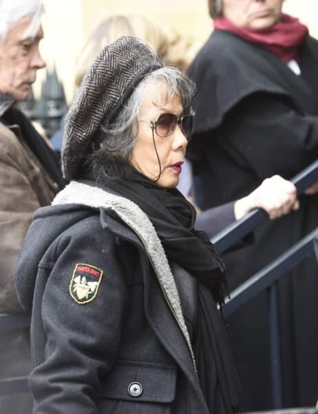 Janice Reid, à l'hommage à Jacques Higelin au Cirque d'Hiver à Paris, le 12 avril