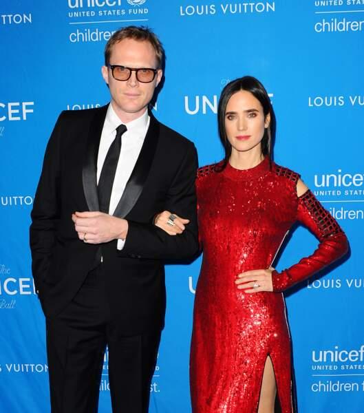 L'actrice Jennifer Connelly et son mari Paul Bettany