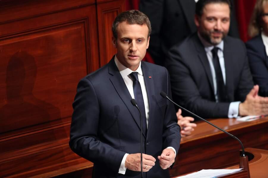 Classement 2017 des mecs que vous aimeriez adopter - 1er : Emmanuel Macron