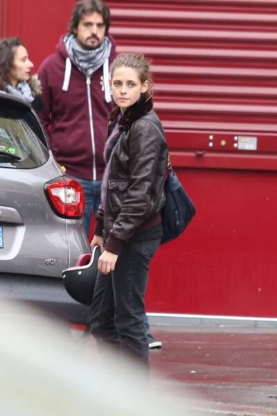 Elle tourne Personal Shopper en ce moment à Paris