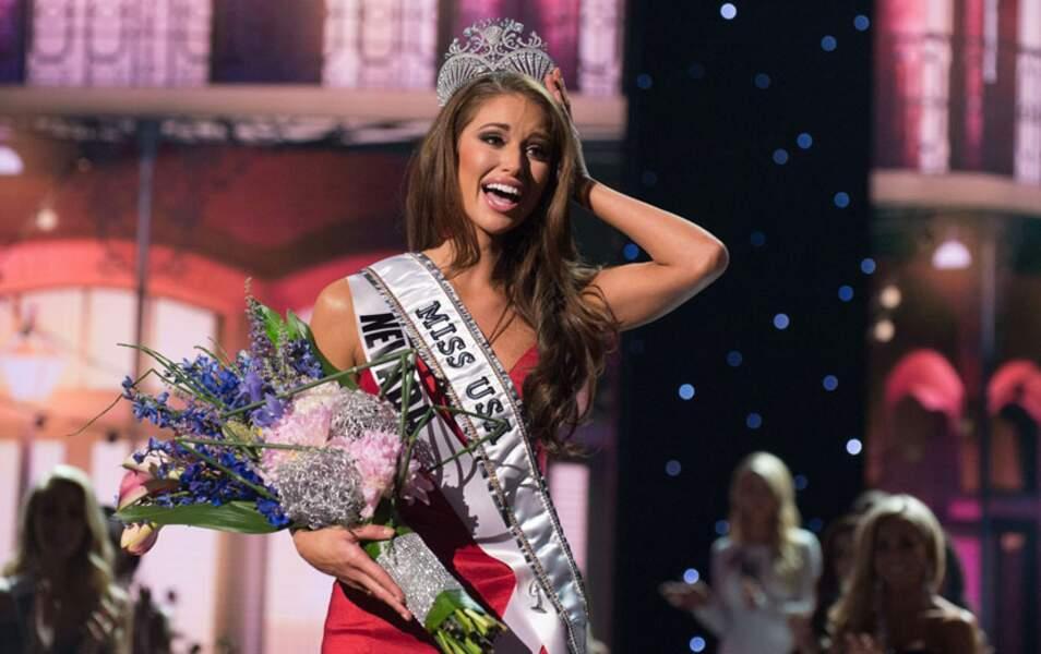Les Etats-Unis ont élu leur nouvelle Miss jeudi 9 juin, Nia Sanchez