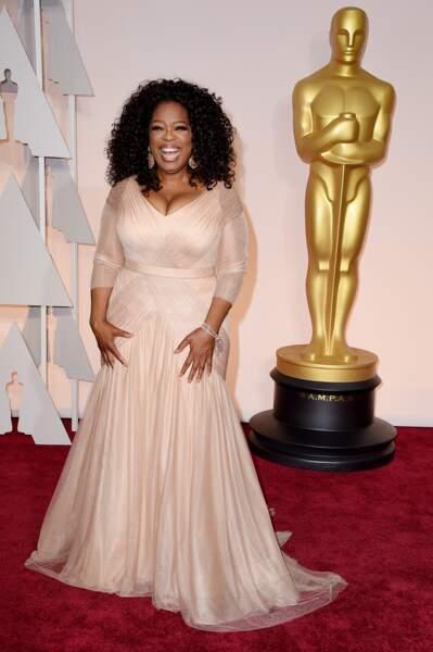 Avant-après ces stars qui ont perdu du poids - Oprah Winfrey avant
