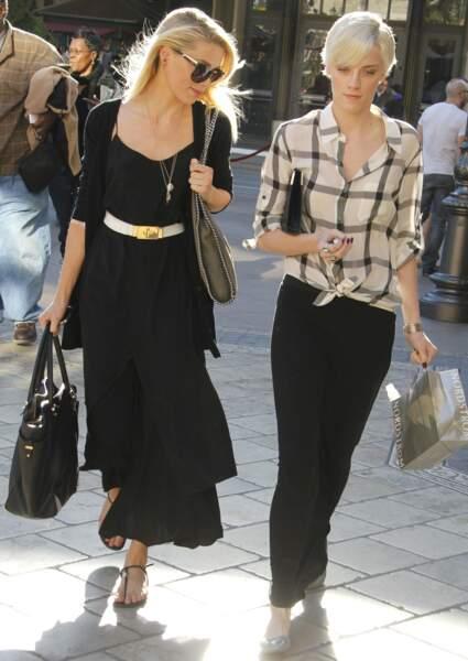 Amber Heard et sa soeur Whitney