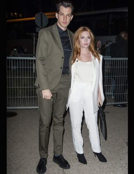 Mark Ronson et sa femme Josephine De La Baume
