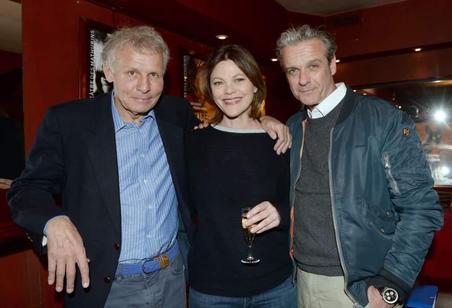 Patrick Poivre d'Arvor, Alexandra Kazan et David Brecourt