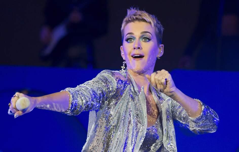 Katy Perry se produit en concert pour le Big Weekend de BBC Radio 1