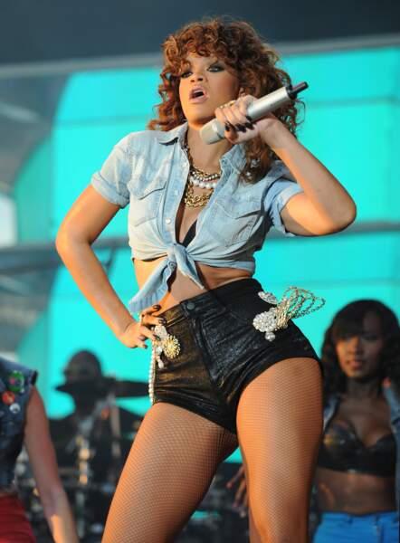Rihanna toujours ultra sexy