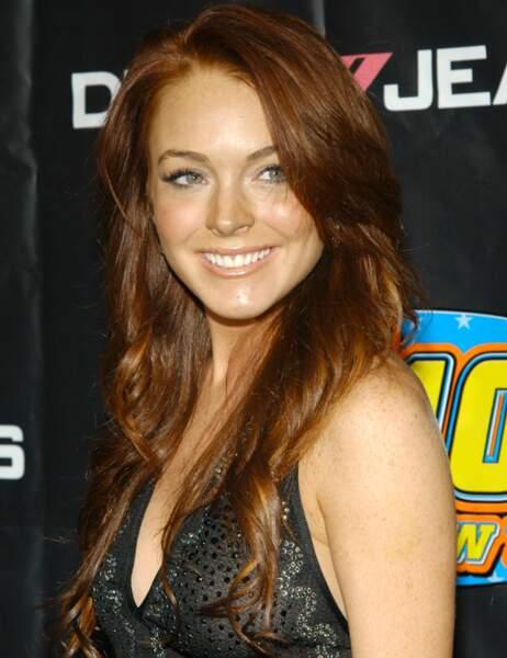 Lindsay Lohan avant