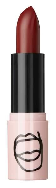 Rouge à lèvres satin bordeaux Unarmed, ASOS Make-up, 9,49€