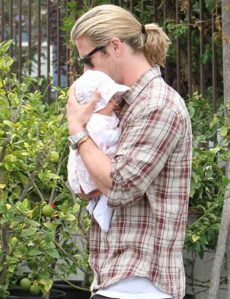 Chris Hemsworth et sa fille