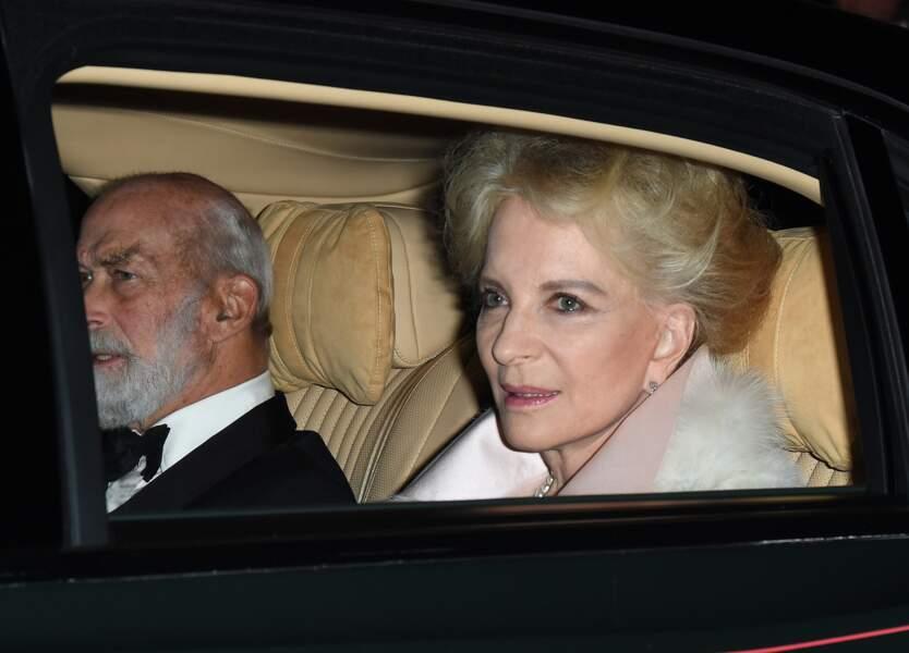 Le prince Michael de Kent et son épouse à l'anniversaire du prince Charles