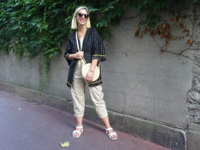 Porter le kimono : pour un week-end au vertr un week-end au vert