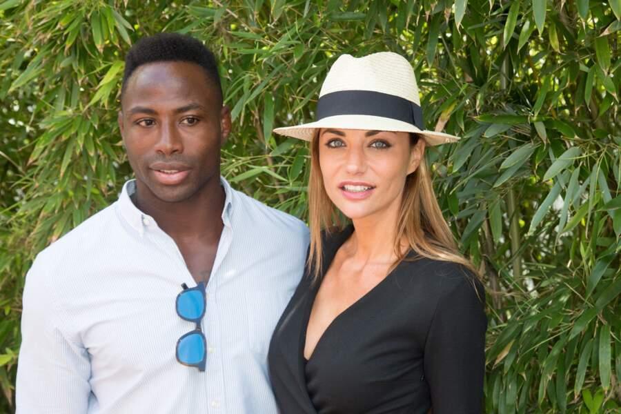Ariane Brodier et Fulgence Ouedraogo, parents d'un petit garçon