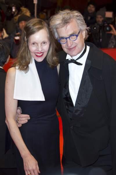 Wim Wenders et son épouse