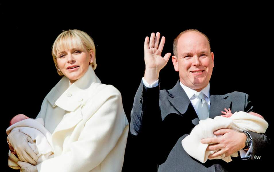Charlène et Albert de Monaco ont rarement été si heureux