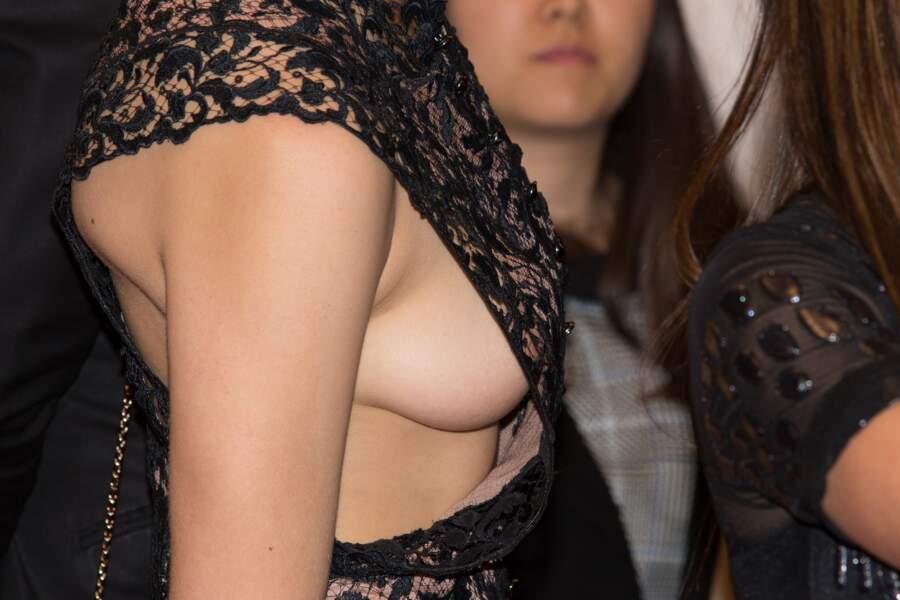 Cannes 2016: Gaia Weiss a montré un sideboob