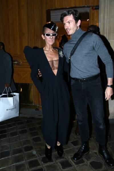 Celine Dion and Pepe Munoz vont assister au Jean-Paul Gauthier Fashion Freak Show