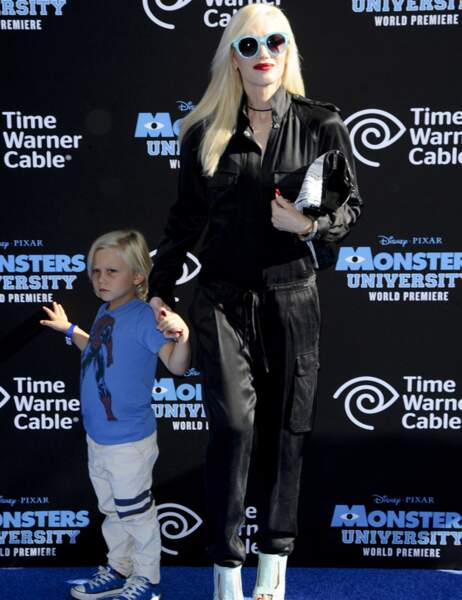 Gwen Stefani et son fils Zuma