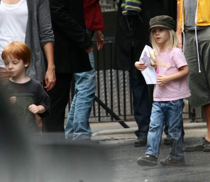 Ces stars parents de jumeaux : Phinnaeus et Hazel sont nés le 28 novembre 2004
