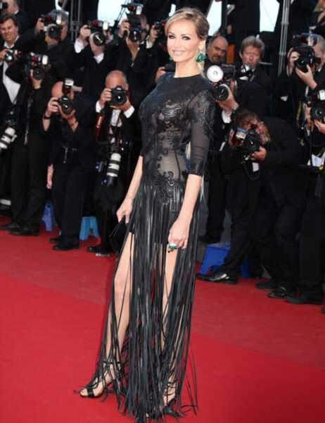 Palme du soutien-gorge qui est parti en vacances avec la culotte d'Eva Longoria : Adriana Karembeu