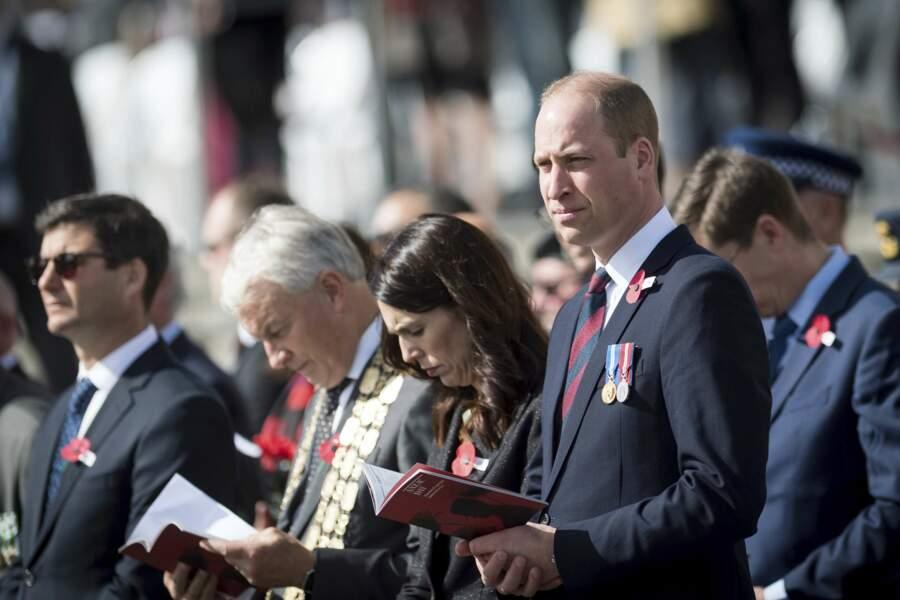 Le prince William en Nouvelle-Zélande pour l'ANZAC Day