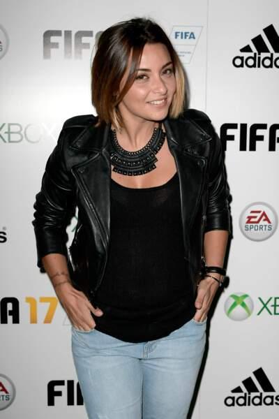 Soirée de lancement FIFA 2017 : Priscilla Betti