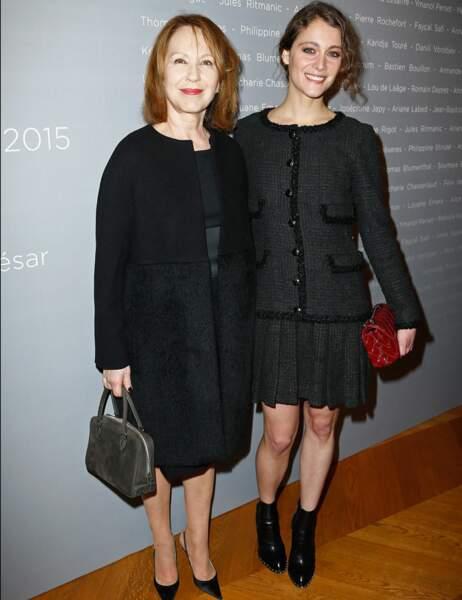 Nathalie Baye et Ariane Labed