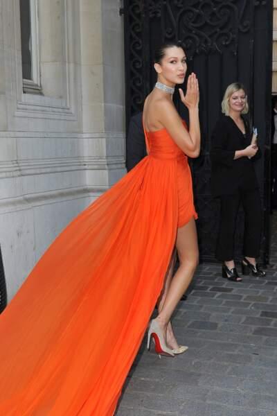 Dîner de la Fondation Vogue - Bella Hadid