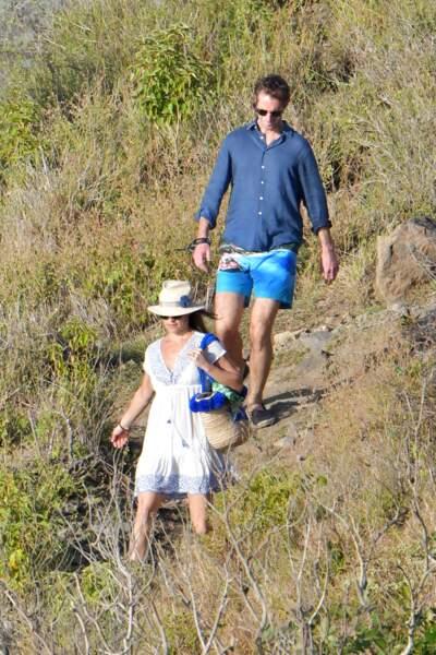 Pippa Middleton et son mari James Matthews ont trouvé un coin de paradis à Saint-Barthélemy