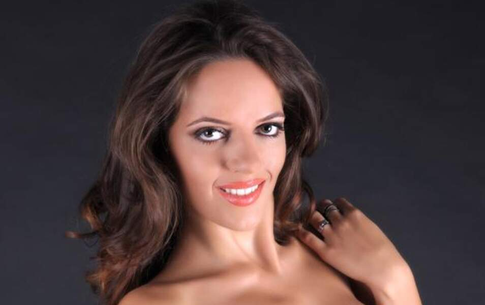 Miss Macédoine Kristina Spasenoska, 21 ans, 1m77