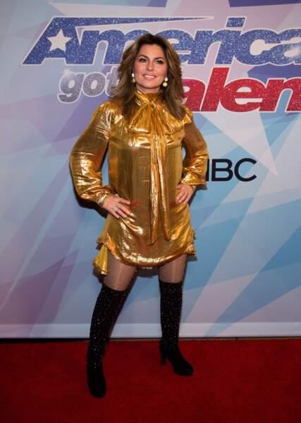 Et Shania Twain, comme on la retrouve aujourd'hui !