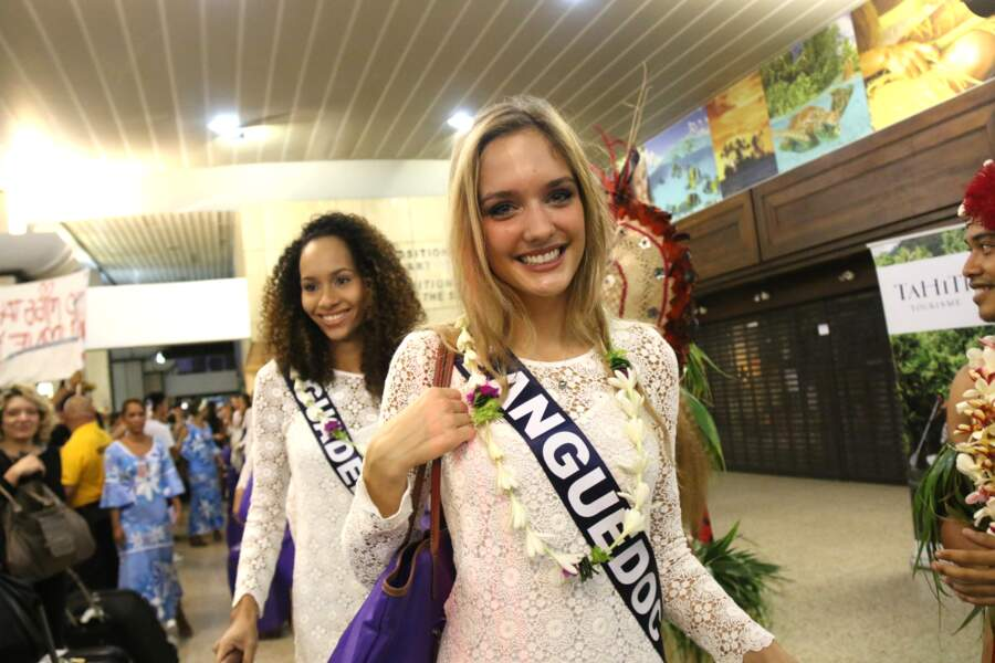 Miss Langedoc et Miss Guadeloupe