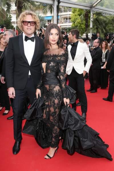 Festival de Cannes 2017 : Peter Dundas & Emily Ratajkowski