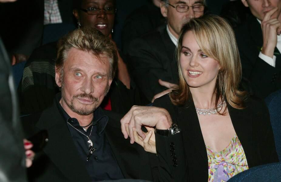 Johnny Hallyday et Laeticia Hallyday, un couple amoureux