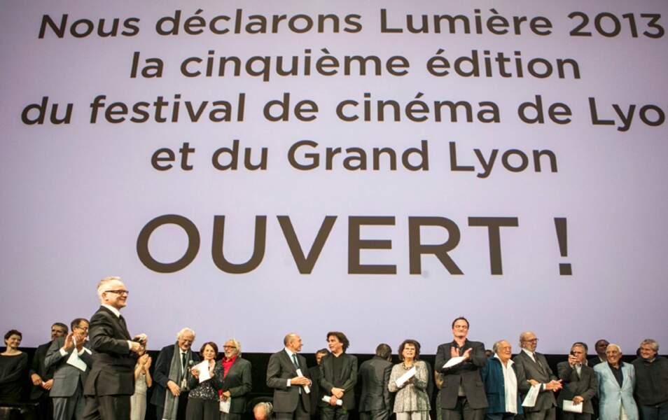 Le Festival de cinéma de Lyon est ouvert (avec du beau monde dans la salle !)